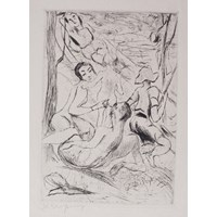 Untitled (Figures In A Landscape)