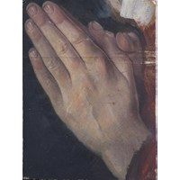 Boy's Praying Hands