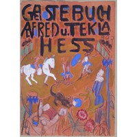 Circus Scene - Study for the title page Gastebuch for Alfred and Tekla Hess